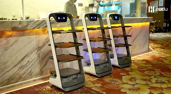 太平洋休闲超市的配送机器人