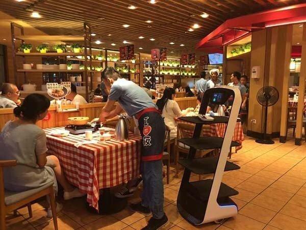 送餐机器人的优势