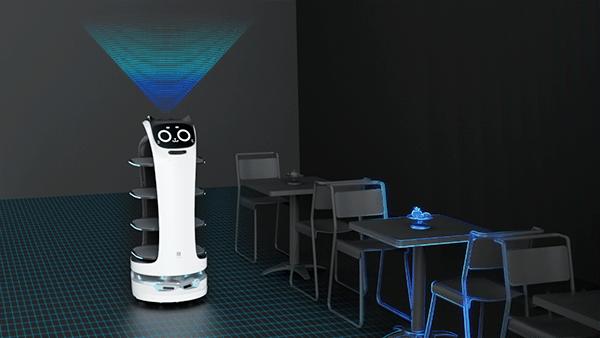 欢乐送智能送餐机器人