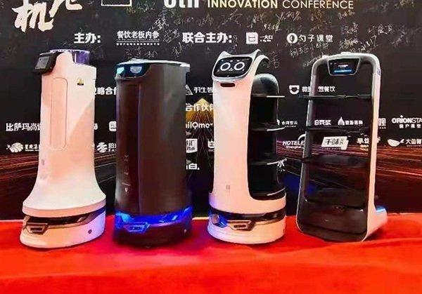 智能语音送餐机器人